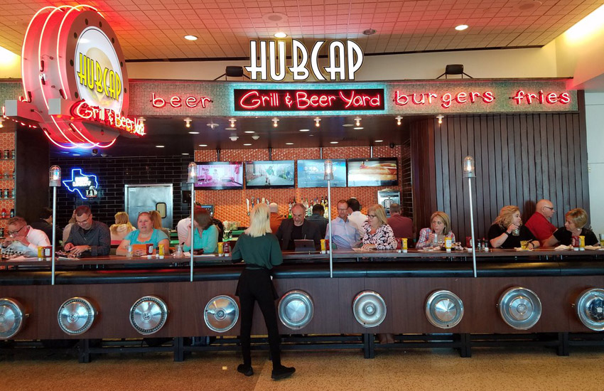 HUBCAP GRILL | Hubcap Grill Bush Intercontinental Airport